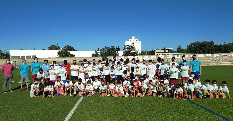 Balance muy positivo de los campus de fútbol y fútbol sala de Porzuna