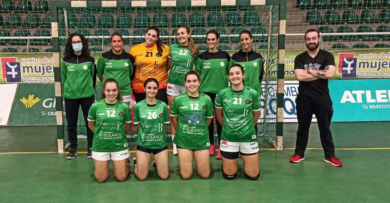 El Club BM Bolaños recibe en casa el inicio de las competiciones territoriales