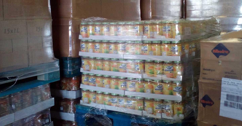 El Banco de Alimentos de Ciudad Real recibe de la Unión Europa 20.000 kilos menos de productos