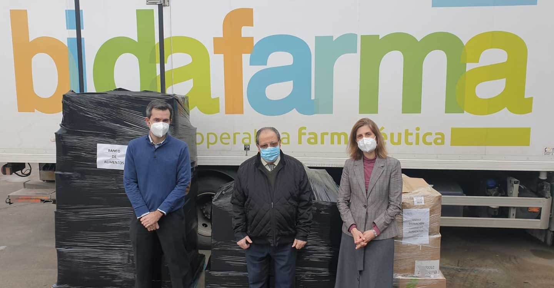 Bidafarma dona al Banco de Alimentos de Ciudad Real 590 kilos de productos de primera necesidad