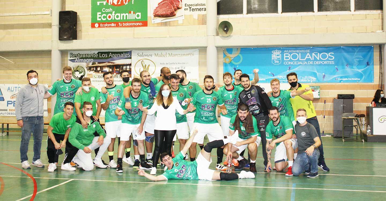 El Club BM Bolaños afronta su último partido de liga sin perder la esperanza