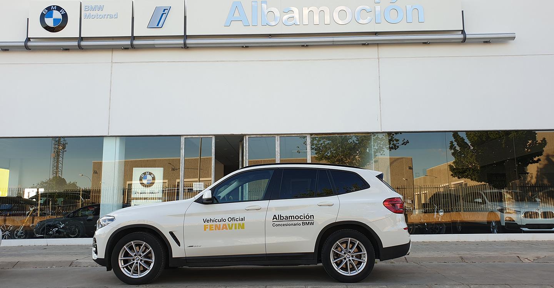 BMW Albamoción colaborará con FENAVIN 2019 mediante la prestación de un servicio de conductores con coches de la marca