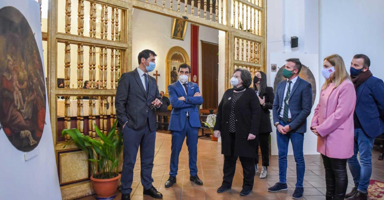 Caballero destaca en Almagro la importancia que tiene que las instituciones y la sociedad civil trabajen por la recuperación del patrimonio