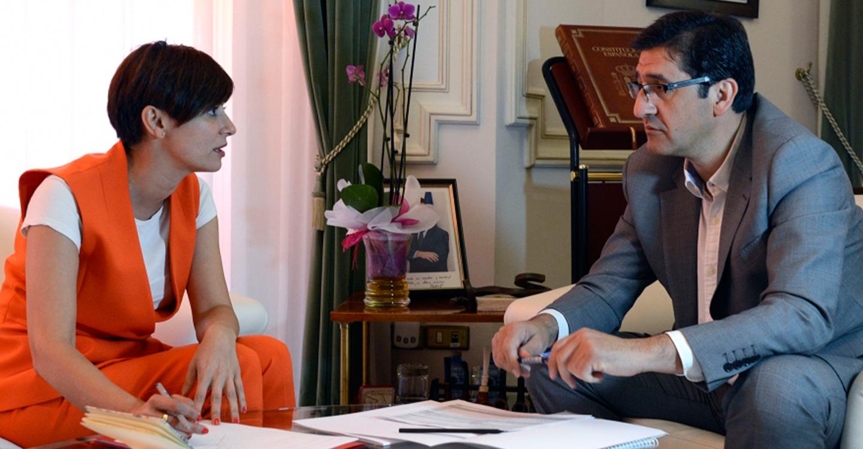 Caballero apoya a Rodríguez en su empeño de convertir Puertollano en referencia nacional de la formación profesional