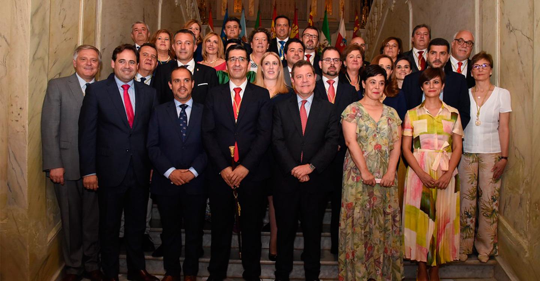 Caballero apuesta por una provincia de oportunidades, solidaria, dinámica, sostenible y por una nueva cultura de la igualdad