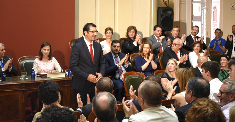 Caballero crea un Área de Desarrollo Rural, Turismo y Sostenibilidad para el mandato 2019-2023 y mantiene la paridad en las vicepresidencias