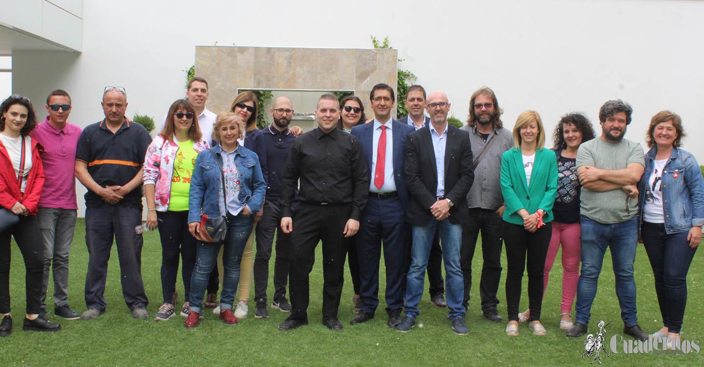 Caballero cuenta con el sector empresarial como aliado para crear otros 100.000 empleos en Castilla-La Mancha en la próxima legislatura