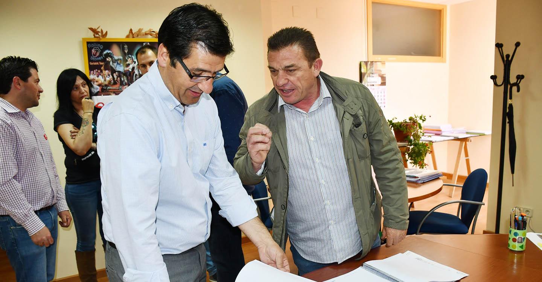 Caballero destaca que el Plan Adelante del Gobierno de García-Page ha beneficiado a 3.000 empresas de la provincia de Ciudad Real