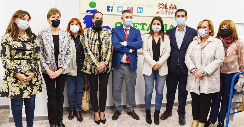 Caballero anuncia un proyecto de colaboración con Oretania en formación de competencias digitales