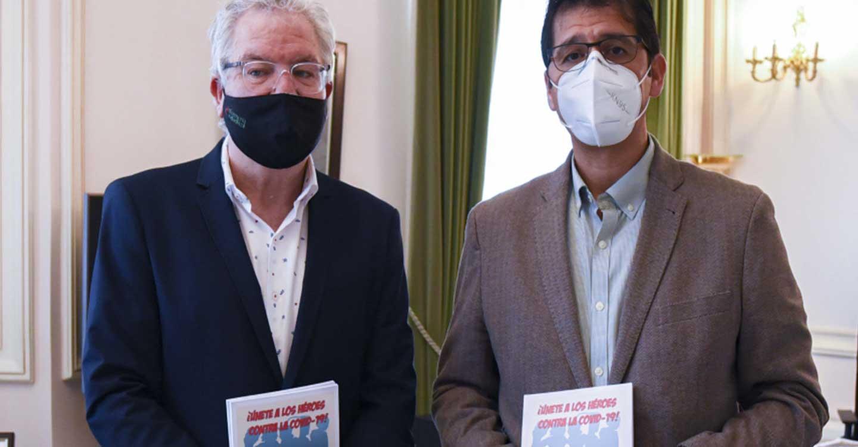Caballero y Tirado ponen en valor el trabajo del colectivo de enfermería en un año marcado por la pandemia de la COVID