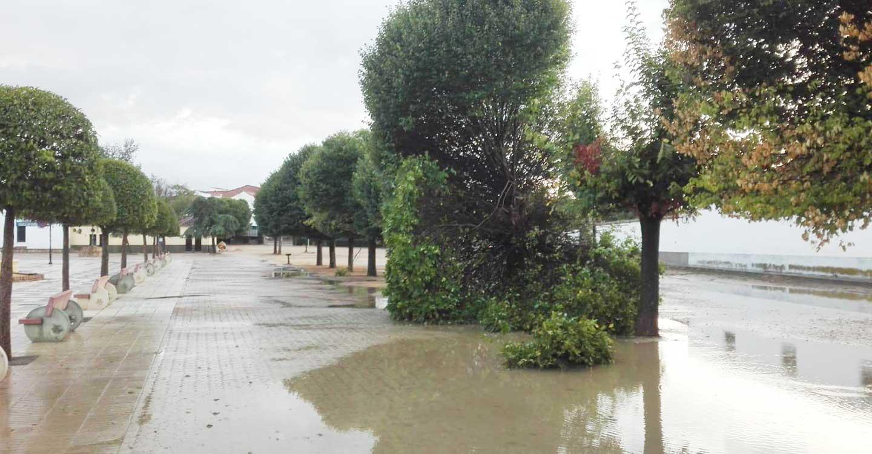 Calzada de Calatrava recupera poco a poco la normalidad tras las inundaciones sufridas por las intensas lluvias del pasado viernes