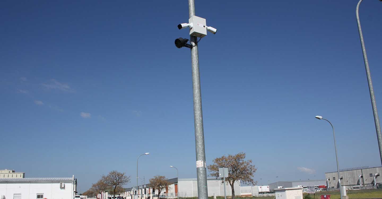 Instaladas varias cámaras de vigilancia en el Polígono Industrial de Torralba de Calatrava