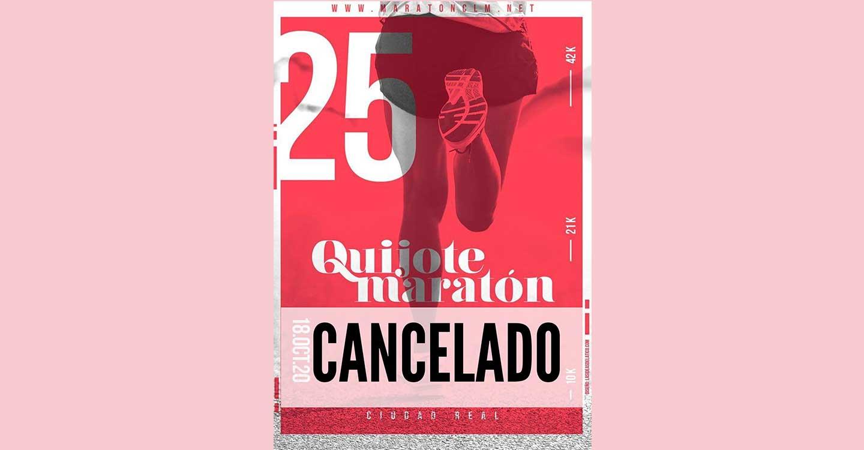 Se cancela el Quijote Maratón 2020, previsto para el 18 de octubre