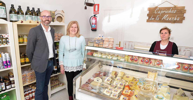 'Caprichos de La Mancha', una ventana abierta a los productos de la empresa Quesos Valverde