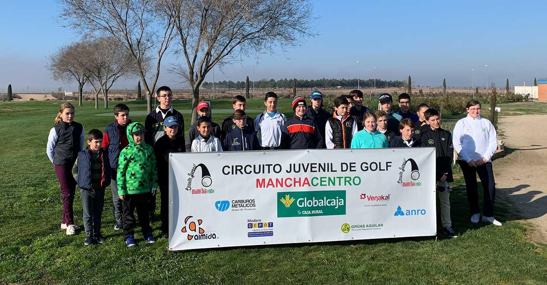 Carlos Cañego Manzanares, campeón del IV puntuable de Golf Manchacentro