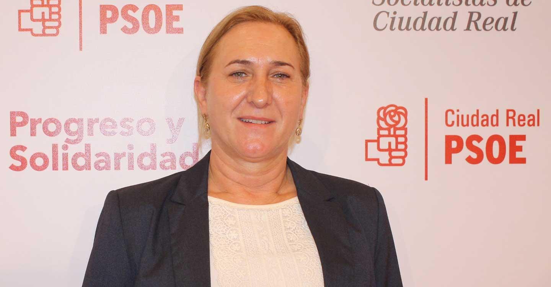 """Carmen Mínguez: """"Cuando el Partido Socialista gobierna lo hace con hechos que dejan patente su compromiso con la provincia de Ciudad Real"""""""