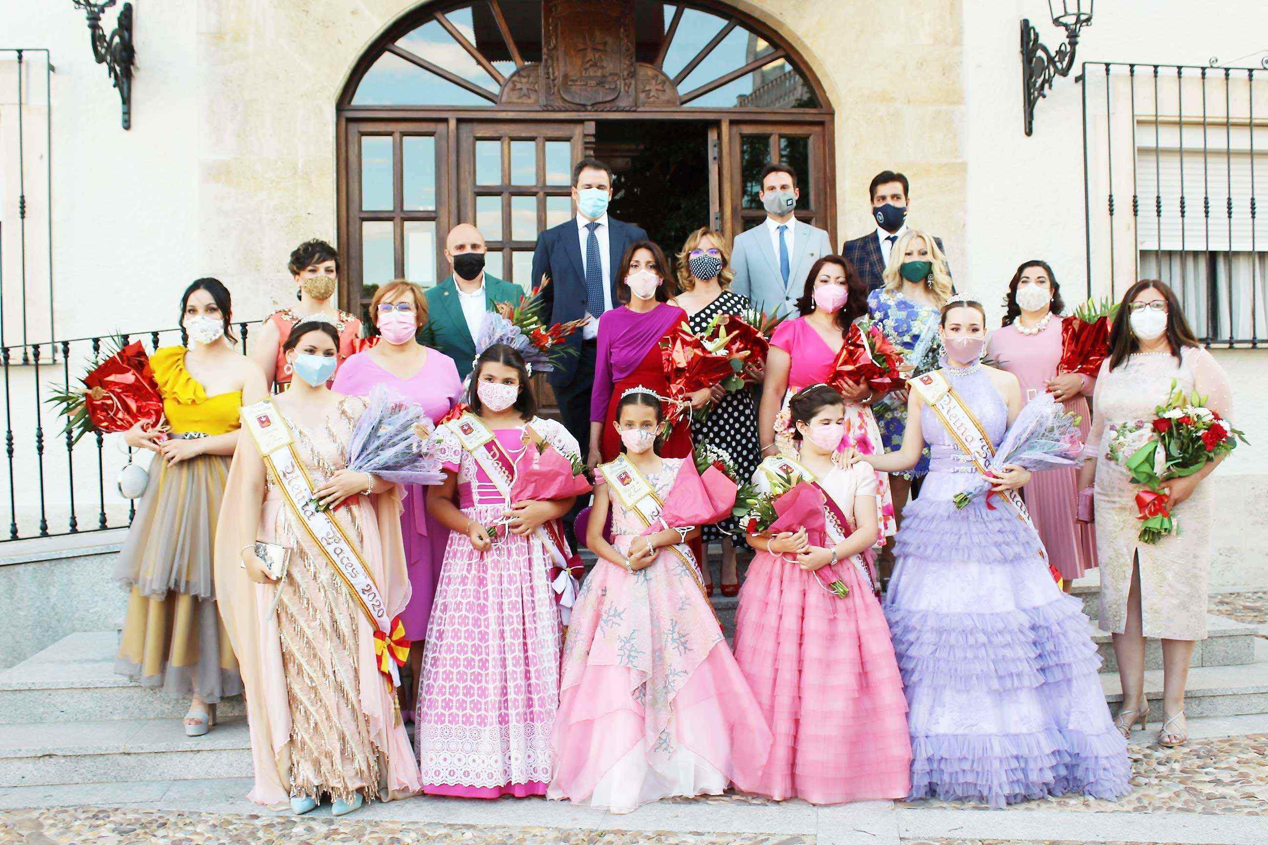 Carmen Olmedo se congratula de que el buen ritmo de vacunación esté permitiendo celebrar fiestas patronales como las de Villarta de San Juan