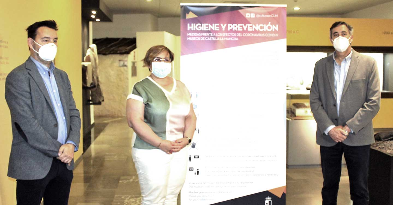 Olmedo destaca las medidas de seguridad adoptadas en los museos que gestiona la Junta de Comunidades de Castilla-La Mancha en Ciudad Real