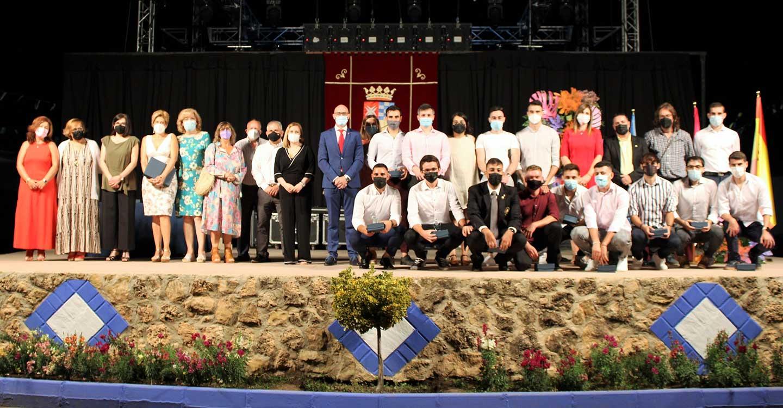 La delegada de la Junta de Comunidades asiste a la inauguración de la feria y fiestas de Argamasilla de Alba en honor de la Virgen de Peñarroya