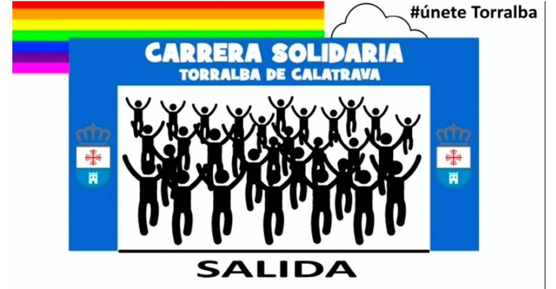 301 personas se inscribieron en la Carrera Solidaria Virtual de Torralba de Calatrava
