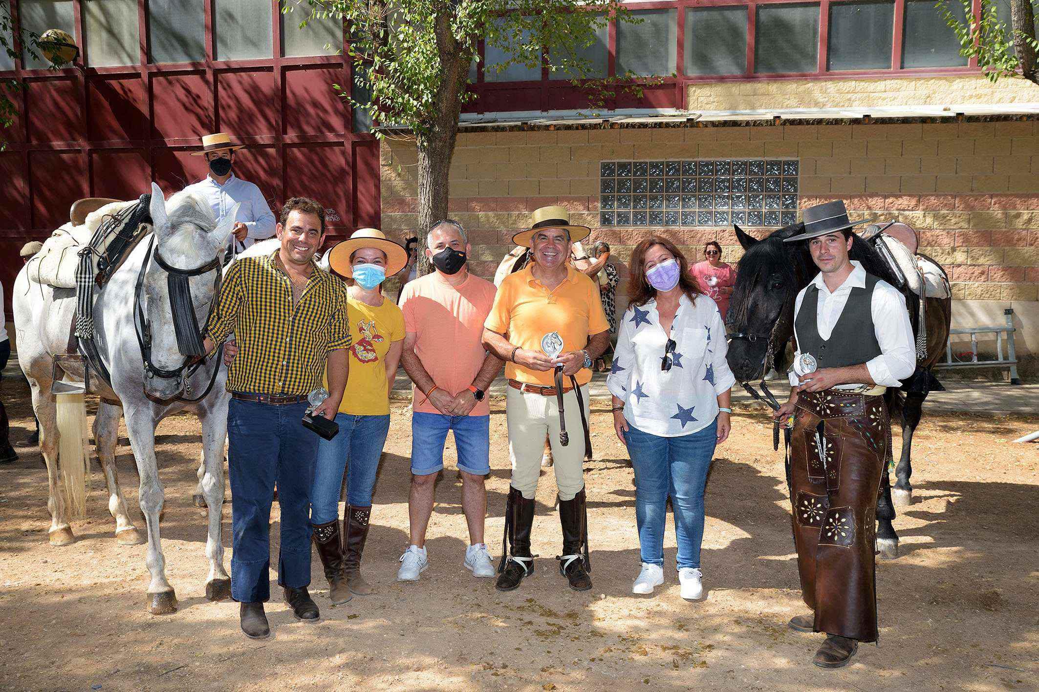 Carreras cinta caballo Argamasilla