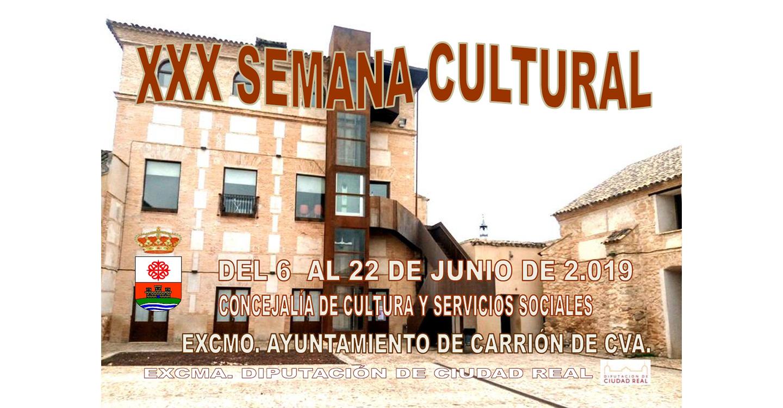 Carrión de Calatrava celebra su 30ª Semana Cultural del 6 al 22 de junio, con la Noche de Leyenda en Calatrava La Vieja como colofón