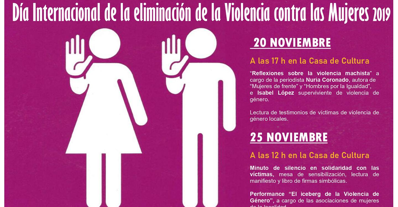 La periodista Nuria Coronado reflexionará en Villarrubia de los Ojos sobre la violencia machista, en los actos por el 25-N