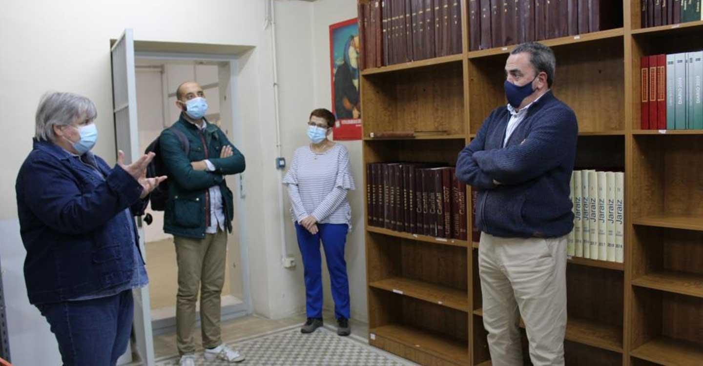 El Centro de Estudios de Castilla-La Mancha digitalizará el semanario Canfali/Jaraiz, que actualmente está depositado en la Biblioteca de la UNED de Ciudad Real