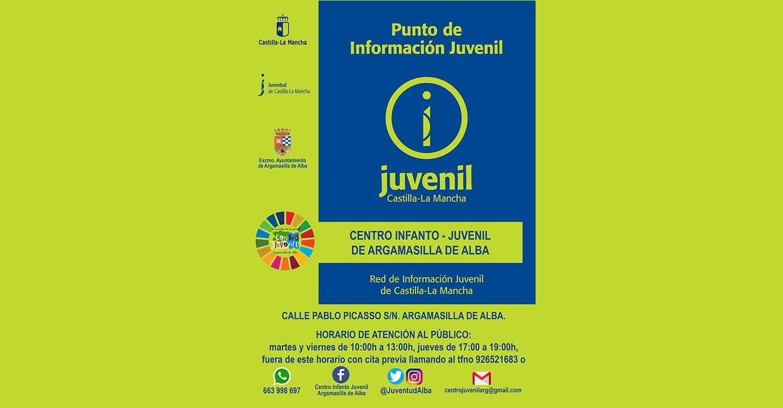 El Centro Infanto-Juvenil de Argamasilla de Alba reconocido como Punto de Información Juvenil