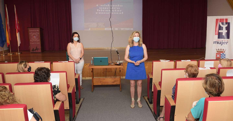 El Centro de la Mujer de Argamasilla de Alba ofrece una charla para aprender a cuidar el bienestar emocional