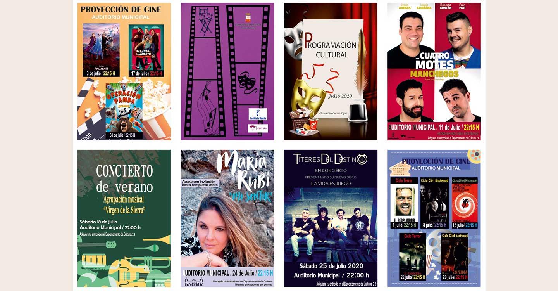 Cine, música y humor para disfrutar las noches de julio en Villarrubia de los Ojos