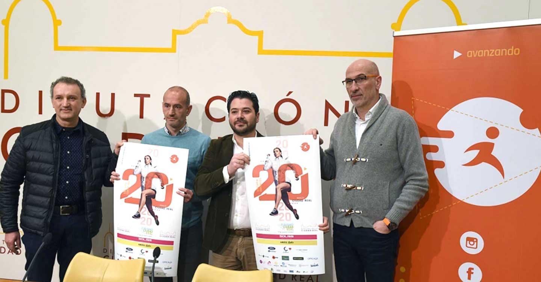 El Circuito de Carreras Populares Diputación Provincial cuenta este año con 20 pruebas, dos más que en 2019