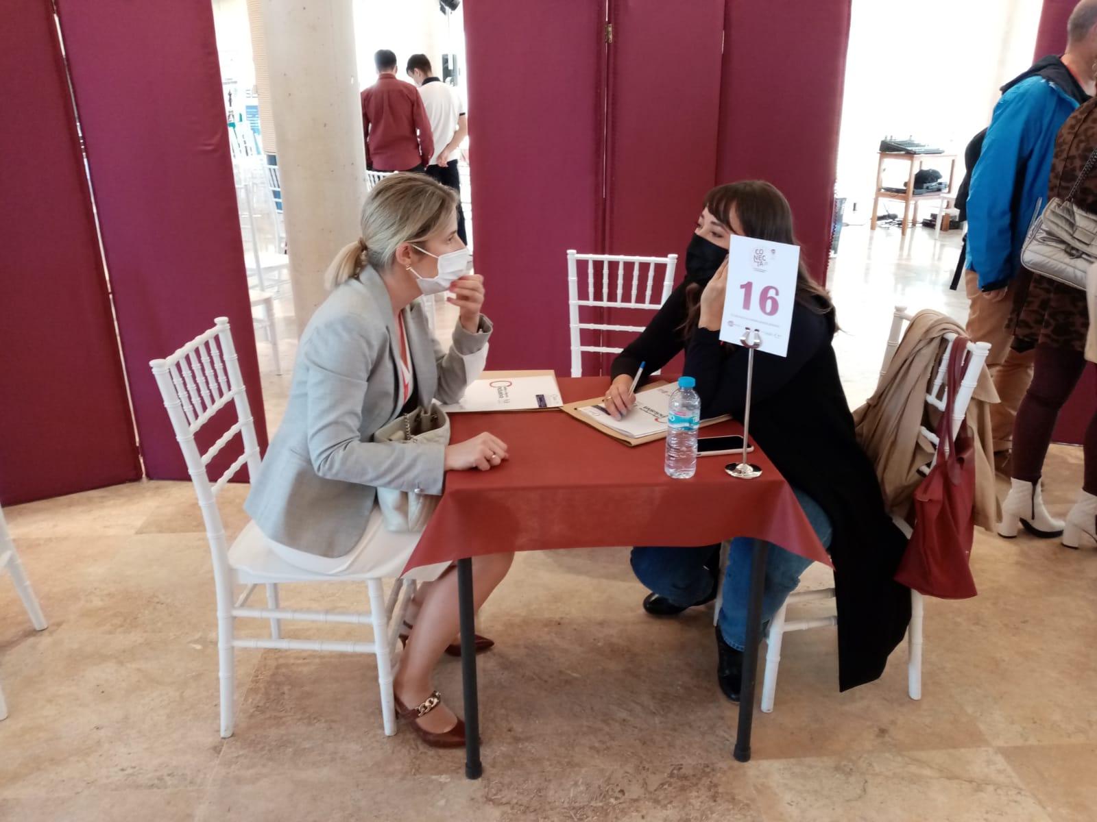 CLM Inclusiva COCEMFE, presente en la X Edición del Encuentro de Negocios 'Conecta empresarios 2021' organizada por AJE Ciudad Real