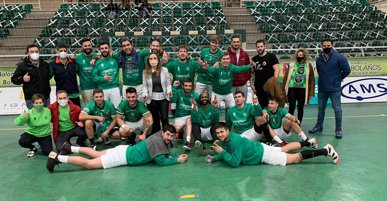 El Club BM Bolaños termina el año siendo el equipo más regular del Grupo F