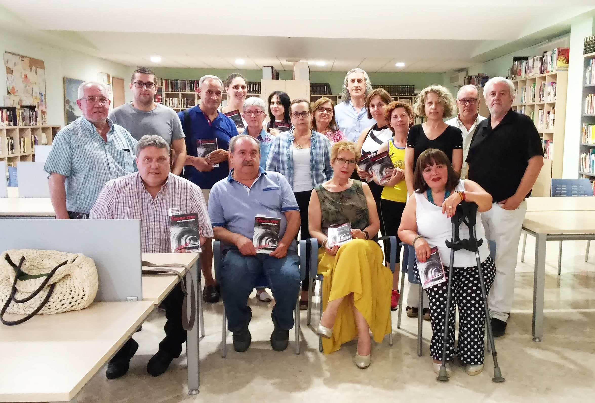 El Club de Lectura 'Cueva de Medrano' de Argamasilla de Calatrava, el Ayuntamiento rabanero y el Grupo Oretania se unen para rendir homenaje al poeta Manuel Muñoz Moreno