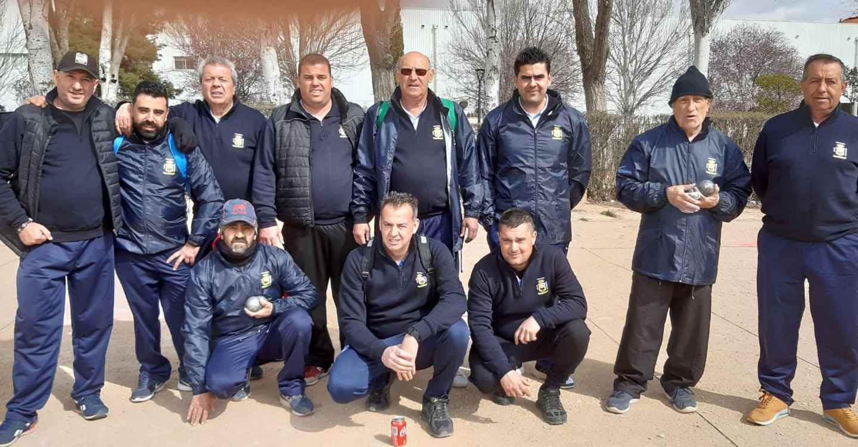 El Club de Petanca de Porzuna participa en los clasificatorios para los Campeonatos de España