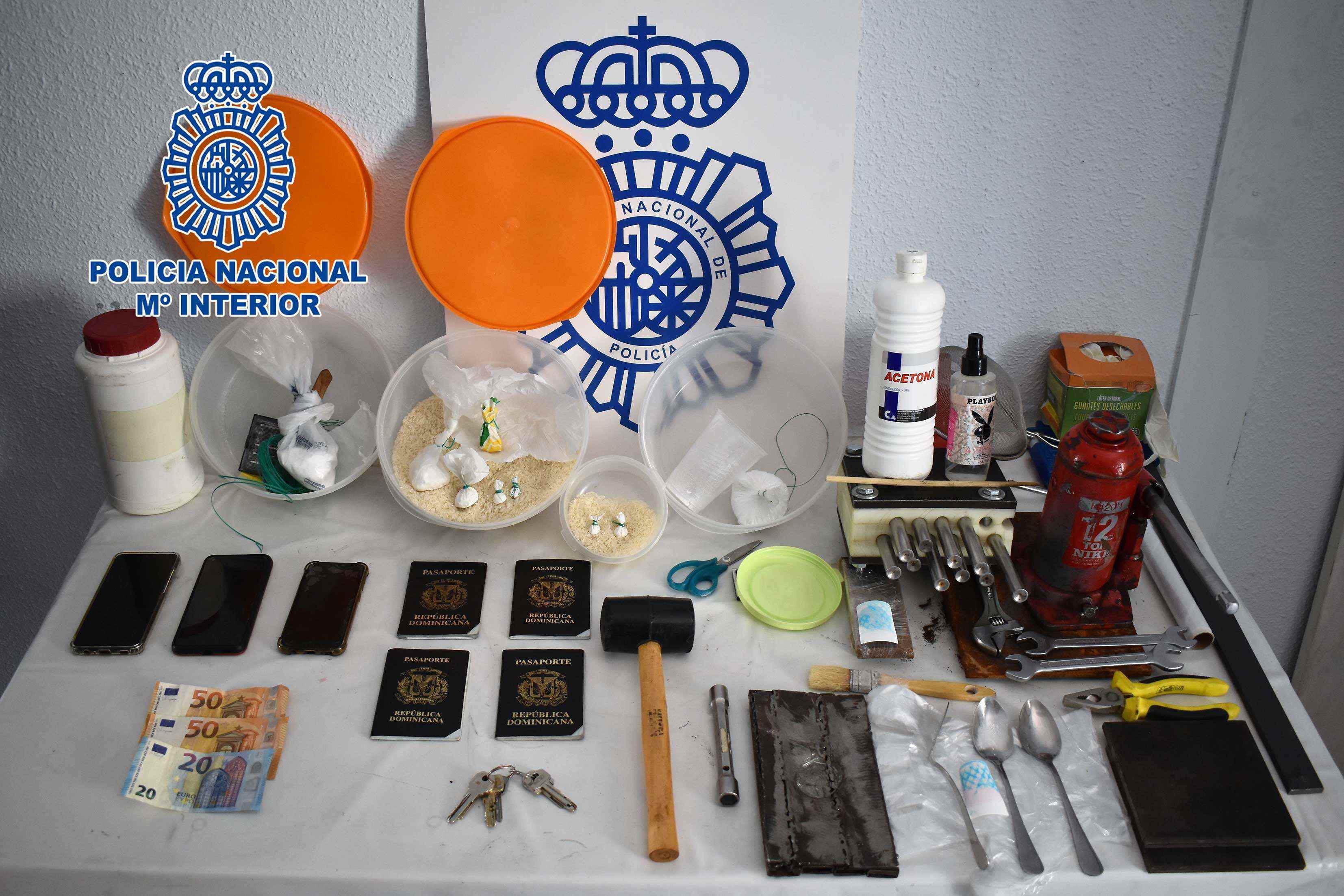 La Policía Nacional desmantela un importante punto de venta de cocaína en Alcázar de San Juan