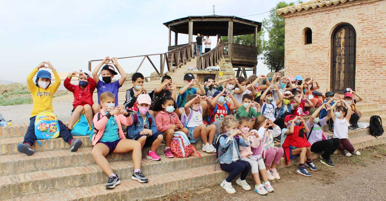 La comunidad educativa del colegio La Alameda de Poblete se solidariza con La Palma e inicia una recaudación de fondos