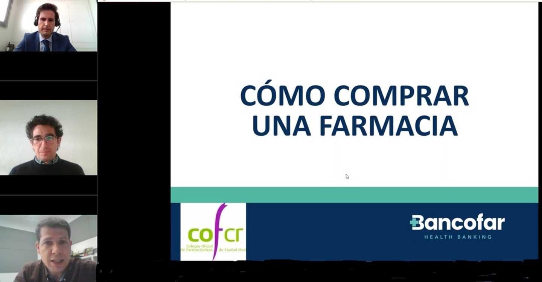 La primavera llega al COF de Ciudad Real con videoconferencias sobre la compra y gestión de la farmacia