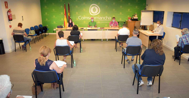 La Corporación de Comsermancha celebra la sesión ordinaria correspondiente al mes de julio