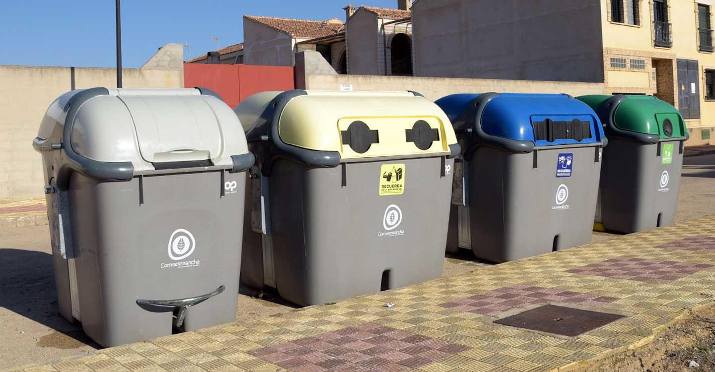 Comsermancha informa sobre el correcto uso de los diferentes contenedores