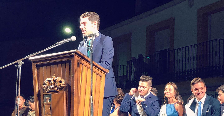 Con el pregón del periodista José Manuel Sampedro ha dado comienzo la Feria de Villanueva de La Fuente