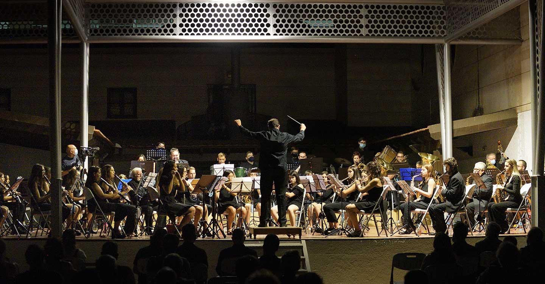El Concierto de Directores clausuró el XVIII Curso Internacional de Dirección de Bandas de Música en Argamasilla de Alba
