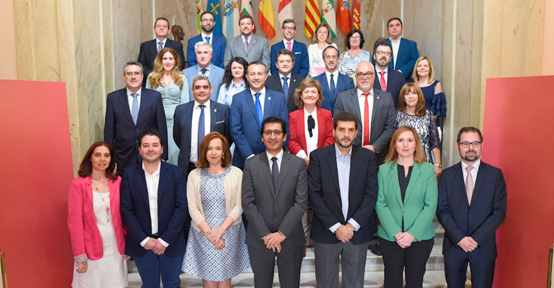 Concluye en la Diputación un mandato fructífero para la provincia y sus gentes marcado por la unanimidad