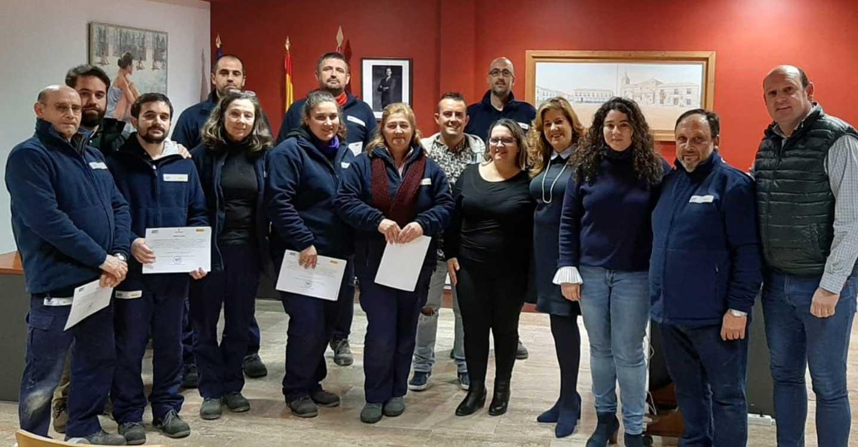 Concluye con éxito el Programa de Reciclaje Profesional impartido en Torralba de Calatrava