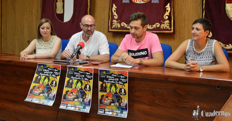 """Conseguir la """"visibilidad del colectivo LGTBI en las zonas rurales"""" objetivo del  IV Festival de este colectivo, dispuesta para el próximo sábado 3 de agosto en Argamasilla de Alba."""