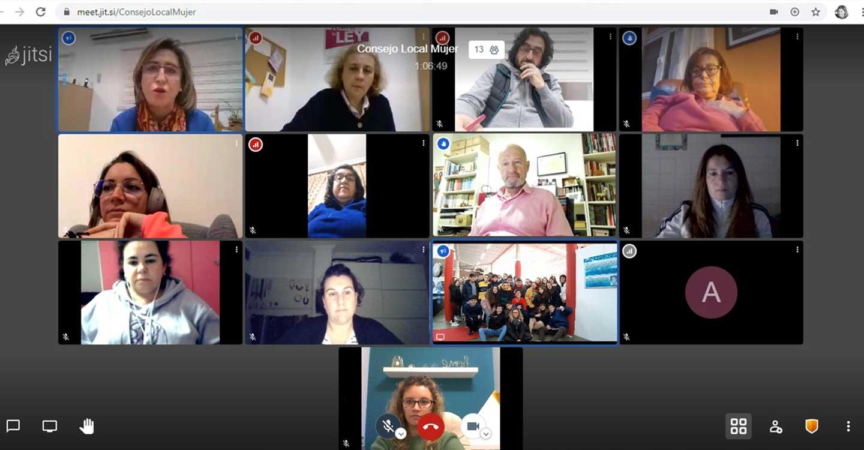 El Consejo Local de la Mujer de Calzada de Calatrava, hace balance del 2020 en una reunión «online» e inician los preparativos para el Día de la Mujer