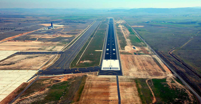 CRIA realiza nuevas actuaciones en el Aeropuerto de Ciudad Real para finalizar el proceso de verificación