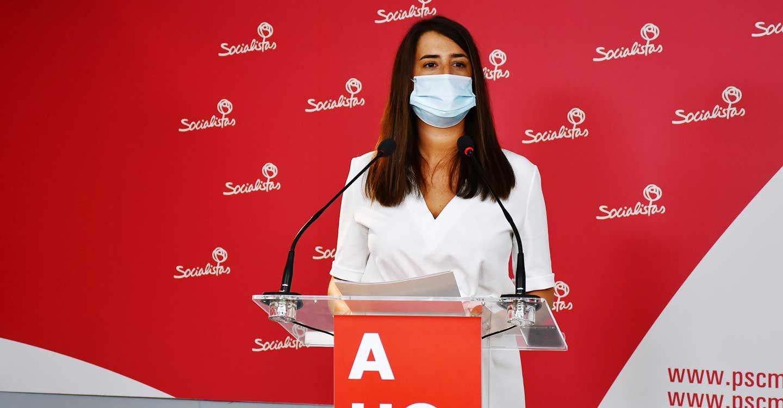 """Cristina López: """"A Rosa Romero no se le conoce, en toda su trayectoria política, acción concreta contra la ocupación ilegal de viviendas"""""""