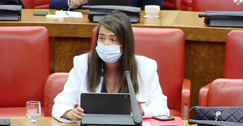 """Cristina López: """"El mayor mecanismo de apoyo al comercio de provincias como la de Ciudad Real es aprobar los PGE"""""""